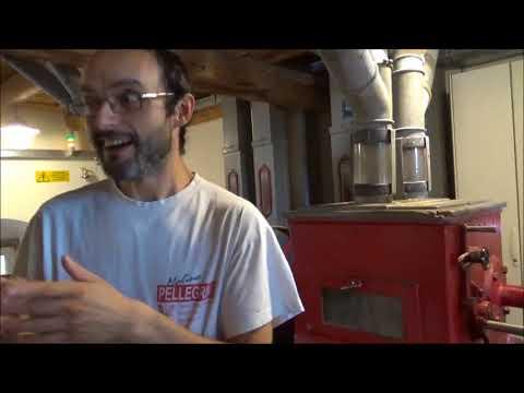 Molino Pellegrini: Riva del Garda. La parte importante di un mulino artigianale è l'uomo