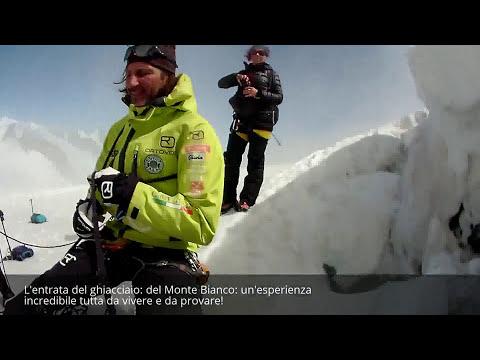 Vi portiamo nel cuore del ghiacciaio del Monte Bianco