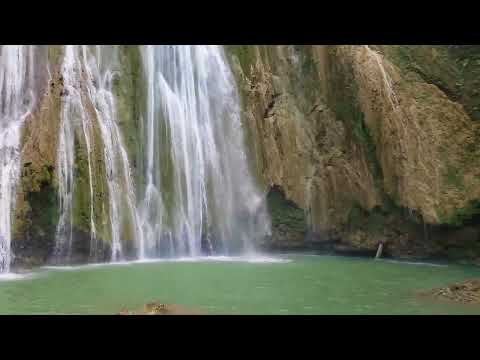 Cascata El Limón a Samana in Repubblica Dominicana #feelsamana
