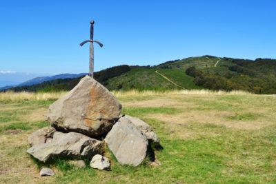 La spada nella Roccia in Pratomagno in Casentino