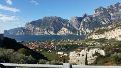 Mappa del lago di Garda Trentino