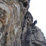 Falesia per arrampicare in Pratomagno Casentino