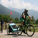 In bici in Trentino a #VisitaComano