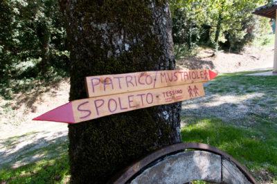 La vecchia strada Patricana di Spoleto