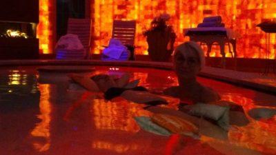 Massaggio in acqua in Val di Sole presso la Spa Goccia D'Oro – Hotel Tevini