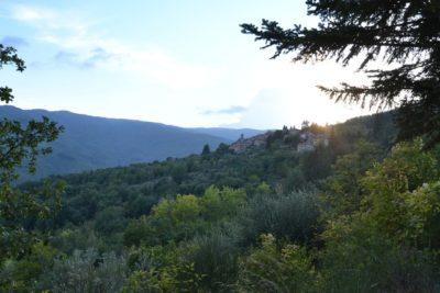 Quota, piccolo borgo alle pendici del Pratomagno