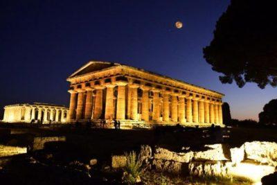 Settembre al Parco Nazionale del Cilento con aperitivo vista Templi a Paestum