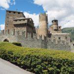 Tour dei castelli medievali in Valle d'Aosta