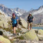 Trekking in montagna: T-shirt Trek 500, gavetta e zaino Decathlon
