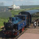 Treno a vapore e bicicletta in Olanda
