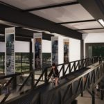 Una pista ciclabile attraverserà un museo