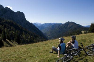 Vacanza in bici in Trentino a #VisitaComano