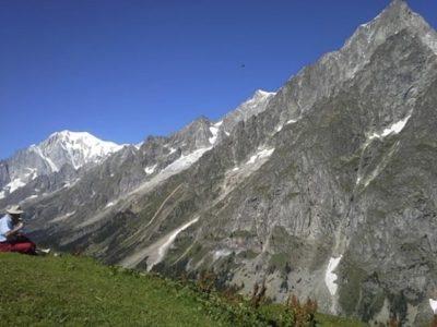 Val Ferret e il Rifugio Bonatti