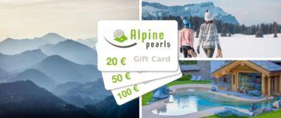 Gift Card Perle Alpine: per tornare a viaggiare in modo sostenibile