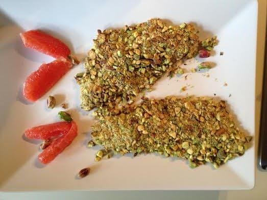 filetto branzino pistacchio