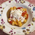 Gnocchetti con melanzane, pomodorini e ricotta...prendendo spunto dal mitico Cannavacciuolo