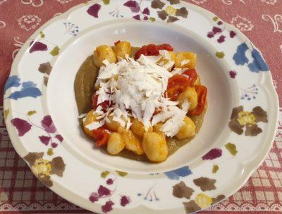 Gnocchetti con melanzane, pomodorini e ricotta…prendendo spunto dal mitico Cannavacciuolo