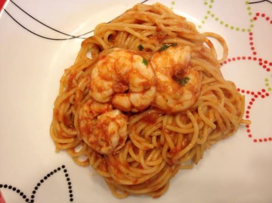 spaghetti-gamberi