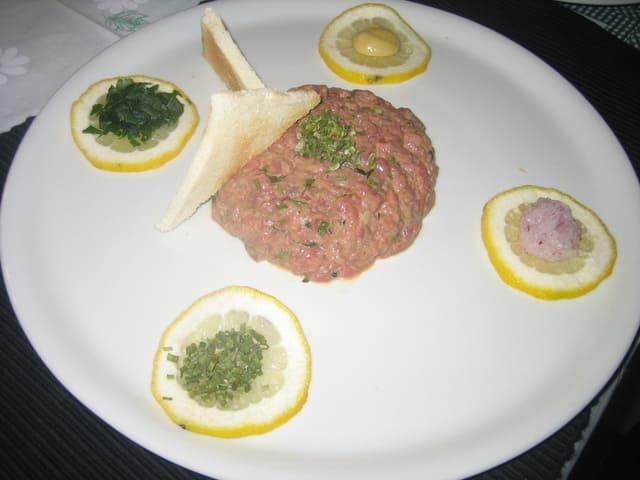 tartare manzo