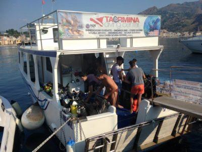 Diving center Taormina