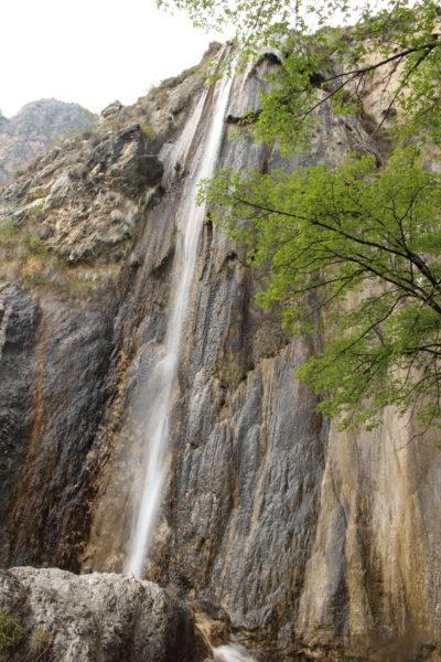 La cascata di Sopino, piccola gemma di Limone sul Garda