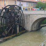 La ruota di Groppello a Cassano d'Adda, sul Naviglio Martesana
