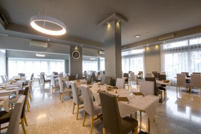 Hotel Torino Jesolo. Sala da pranzo